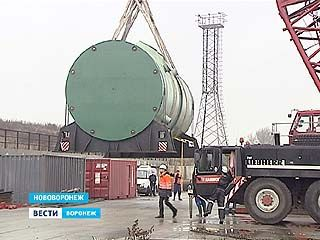 На НВАЭС-2 доставлен корпус реактора для второго энергоблока