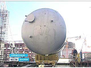 На НВАЭС-2 приступили к монтажу парогенераторов