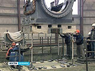 На НВАЭС-2 приступили к монтажу самой мощной в России турбины