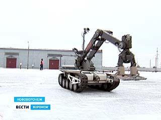 На НВАЭС продемонстрировали способности роботов