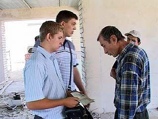 На одной из воронежских строек задержали шесть граждан Узбекистана