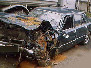 На окружной дороге произошла авария