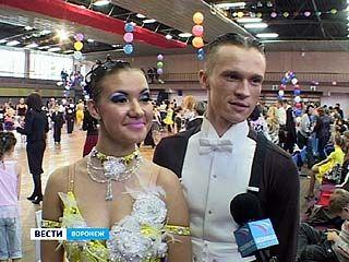 На открытом чемпионате области по европейским танцам воронежская пара стала лучшей