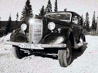 На площади Ленина представят раритетный автомобиль