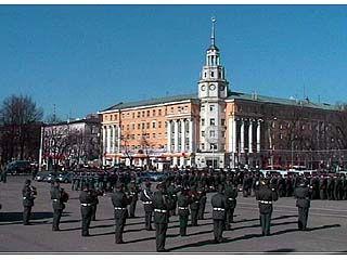 На площади Ленина пройдет развод правоохранительных органов
