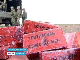 На полигоне Погоново снова пострадавшие в результате утилизации боеприпасов