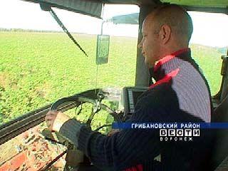 На полях Грибановского района работают потомственные механизаторы