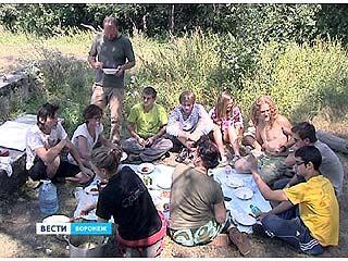 На работу в Воронежский биосферный заповедник приехали иностранцы