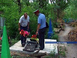 На Россошанском кладбище совершен акт вандализма