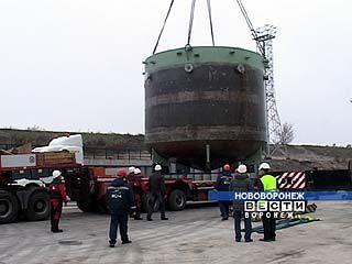 На строительную площадку НВАЭС-2 прибыл груз-тяжеловес