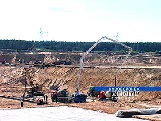 На стройплощадке Нововоронежской АЭС-2 начались бетонные работы