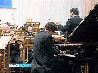 На сцене Воронежской филармонии выступил Денис Мацуев