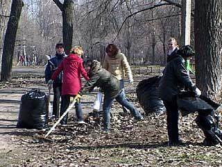"""На субботнике из парка """"Южный"""" вывезли 180 кубометров мусора"""