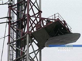 На телевизионной вышке в Боброве начинается ремонт