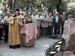 На территории Благовещенского собора прошла панихида