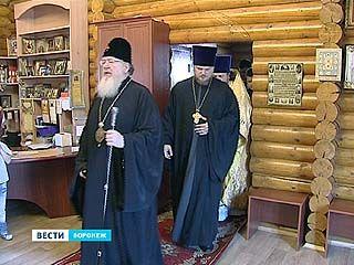 На территории БСМП освятили колокола храма Луки Войно-Ясенецкого