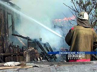На территории области зарегистрировано 8 пожаров, погибли 2 человека