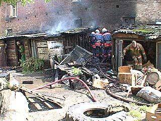 На территории Воронежской области при пожаре погиб человек