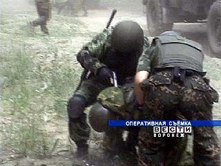 На территории Воронежской области прошли крупномасштабные учения ФСБ