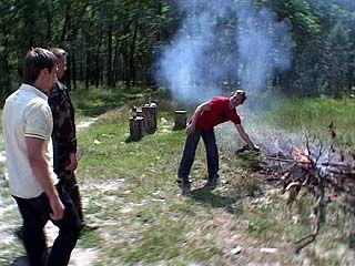 На территории Воронежской области введен третий класс пожароопасности