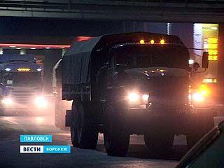 """На трассе М-4 """"Дон"""" наблюдается движение военной техники, идущей в южном направлении"""