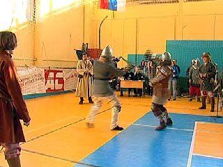 На турнире Шибилкина выступили представители исторического фехтования