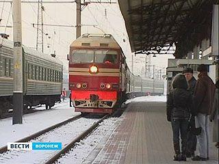 На Украину из Воронежа поездом больше доехать нельзя
