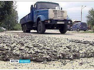 На улицах Воронежа снова появилась грязь с городских строек