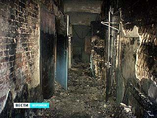 На улице Депутатской горело общежитие