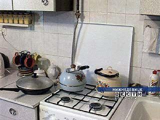 На улице Газовой Нижнедевицка жители остались без газа