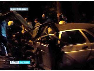 На улице Ленинградской произошло страшное ДТП