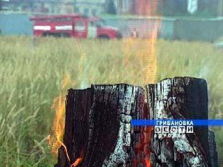 На весь Грибановский район приходится три пожарных расчета