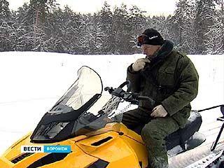 На вооружении лесников Биосферного заповедника появились снегоходы