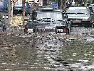 На Воронеж обрушилась лавина дождя