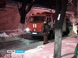 На Воронежском хлебозаводе ╧1 произошел пожар