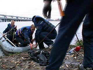 На Воронежском водохранилище проходят учения службы МЧС