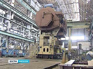 На Воронежском заводе ТМП создали самый тяжелый в мире пресс
