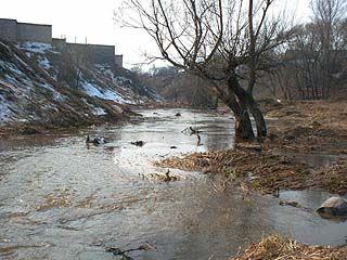 На востоке области происшествий, связанных с паводком, не зафиксировано