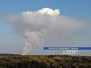 На востоке области сохраняется повышенный класс пожароопасности