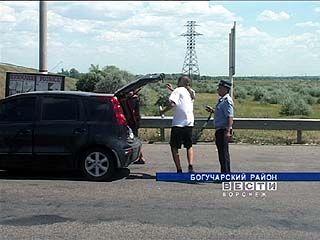 На всех въездах в Воронежскую область выставлены санитарные посты