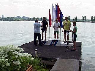 На всероссийских соревнованиях воронежские гребцы показали достойные результаты