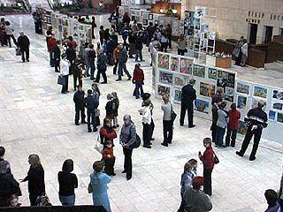 На выставке архитектурно-художественного творчества представлено более 300 работ