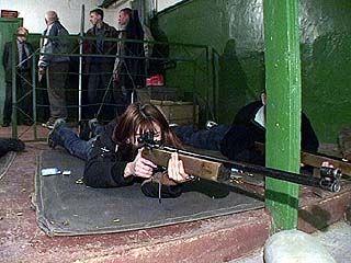 Начались состязания по пулевой стрельбе