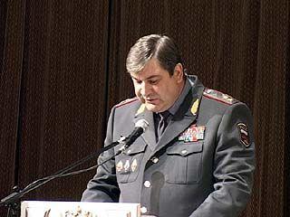 Начальник ГУВД области Олег Хотин освобожден от занимаемой должности