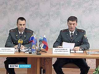 Начальник Управления  ФСКН Воронежа Анатолий Акименко провел пресс-конференцию