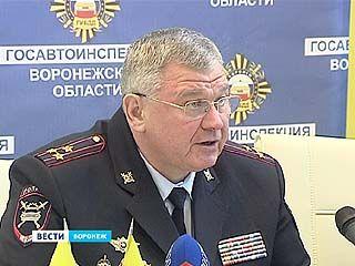 Начальник Управления ГИБДД по Воронежской области Владимир Верзилин ответил на вопросы журналистов