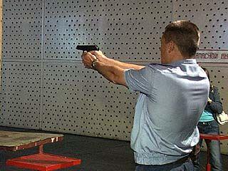 Начальники РОВД сдавали контрольные нормативы по стрельбе