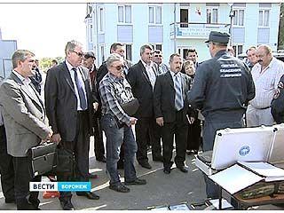 Начальники спасательных подразделений всей области посетили базу ПСО