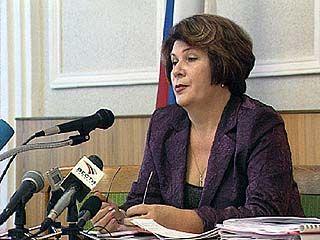 Надежда Сафонова провела встречу с журналистами