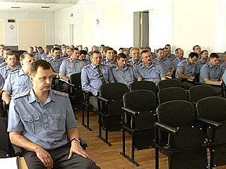 Накануне профессионального праздника милиционеры подвели итоги работы